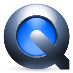 A recent version of the Quicktime logo.